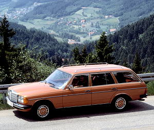 Mercedes Benz 300 D Turbodiesel W 123 1982 Car Pictures